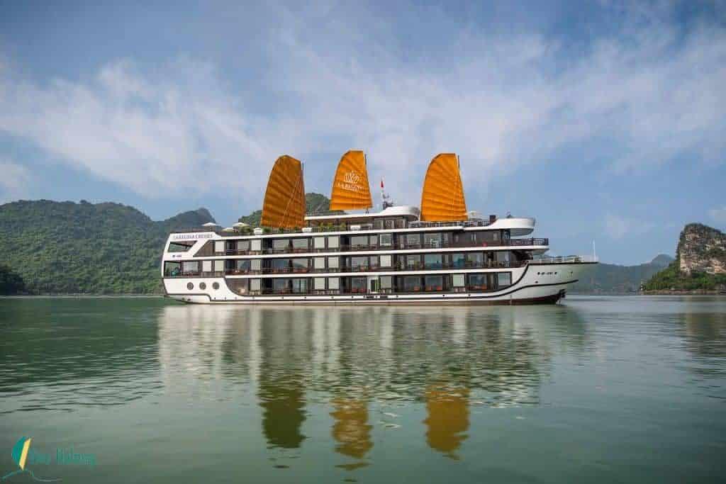 Du thuyền La Regina Legend 5 sao vịnh Lan Hạ