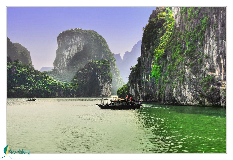 Cảnh đẹp vịnh Bái Tử Long