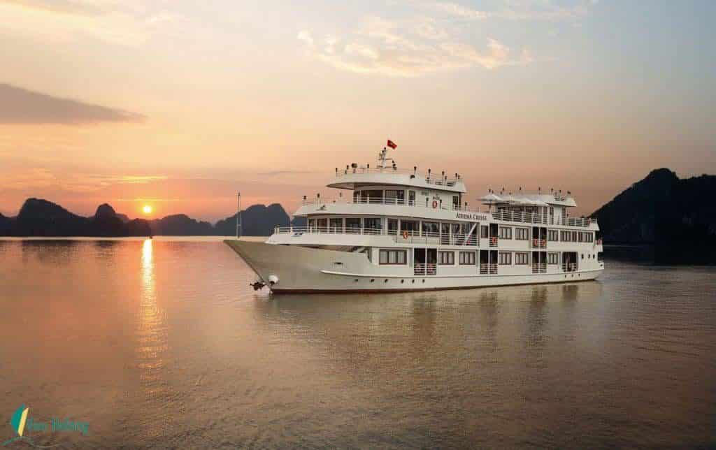 Du thuyền Athena Hạ Long