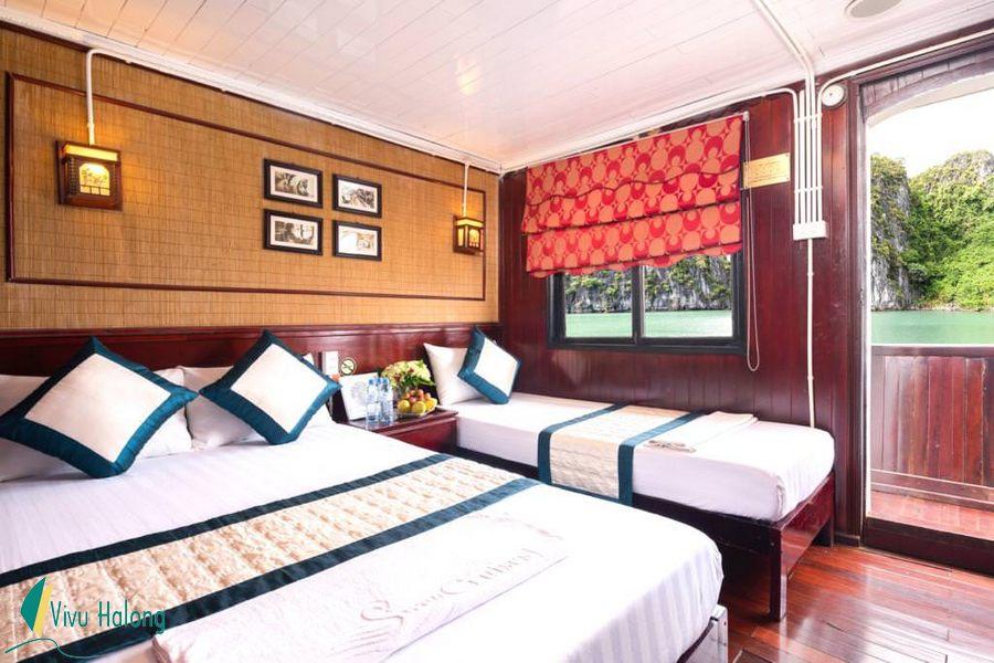 Phòng nghỉ trên du thuyền Swan