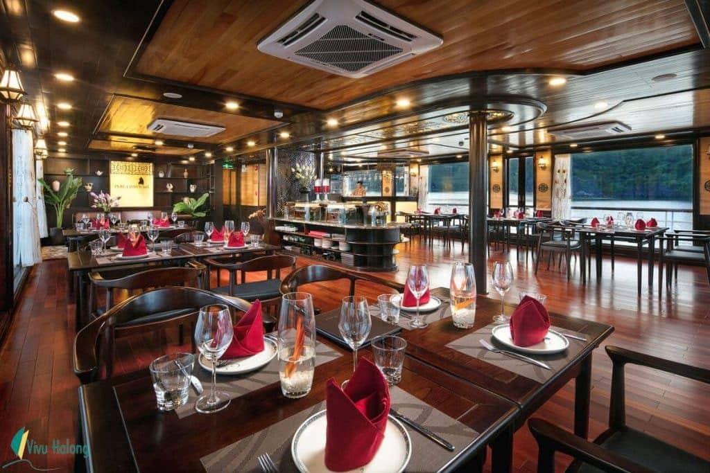 Nhà hàng du thuyền Perla Dawn Sails
