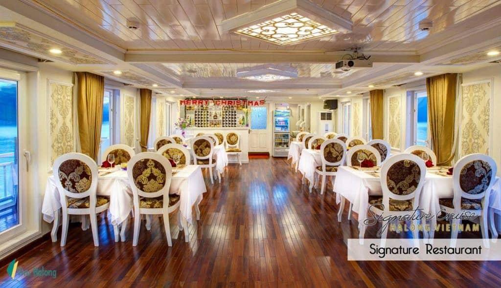 Nhà hàng Du thuyền Singature Hạ Long