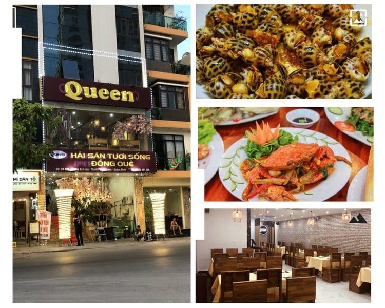Nhà hàng hải sản tươi sống Queen Hạ Long