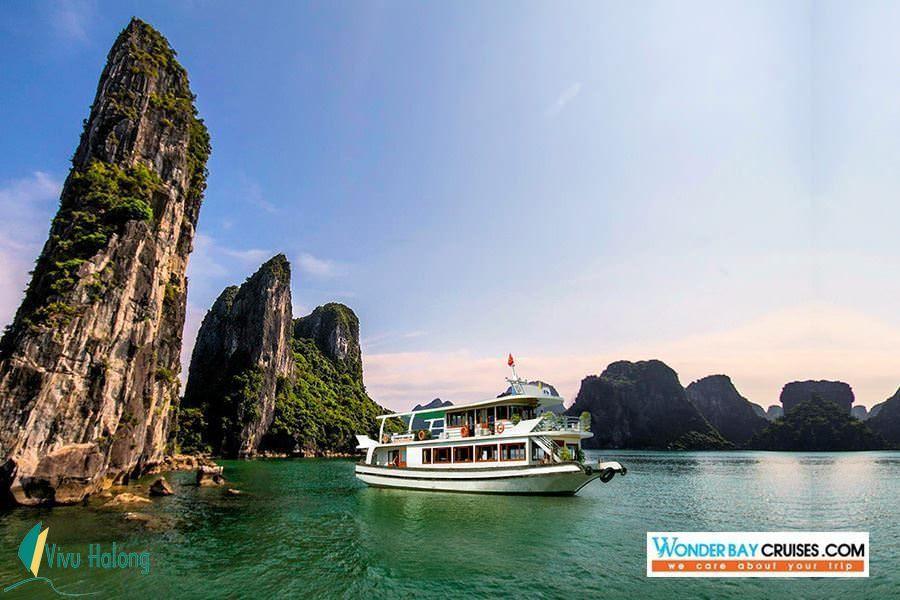 Du thuyền Wonder Bay Hạ Long