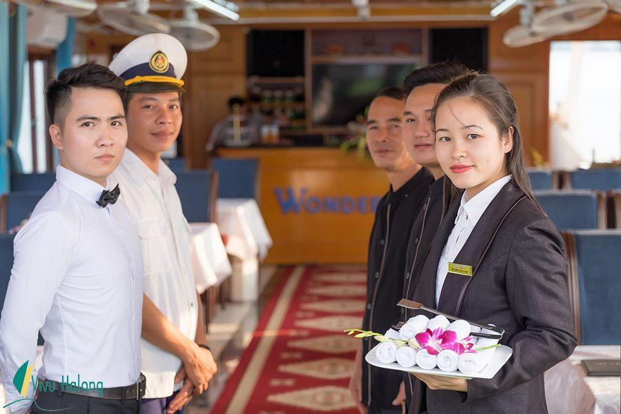 Tour Hạ Long 1 ngày du thuyền Wonder Bay