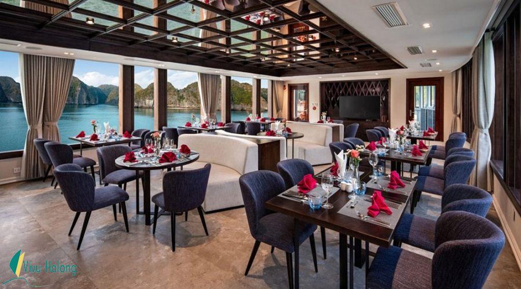 Nhà hàng du thuyền Jade Sails Hạ Long
