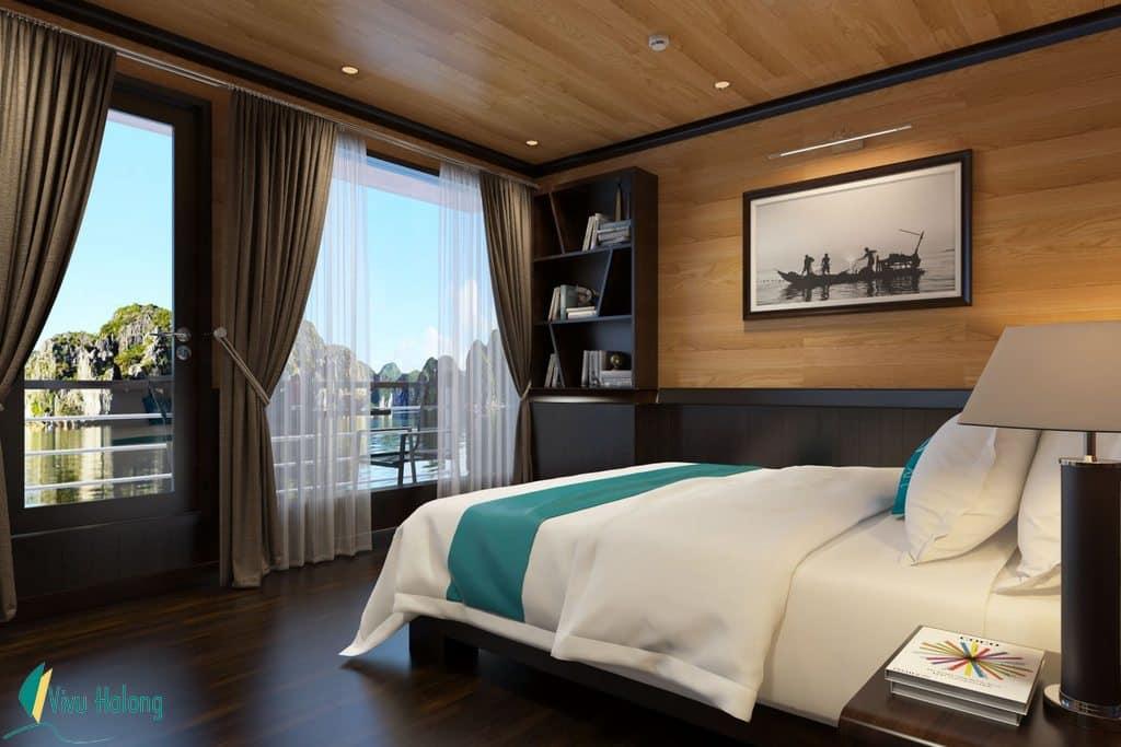 Phòng nghỉ trên Du thuyền Serenity