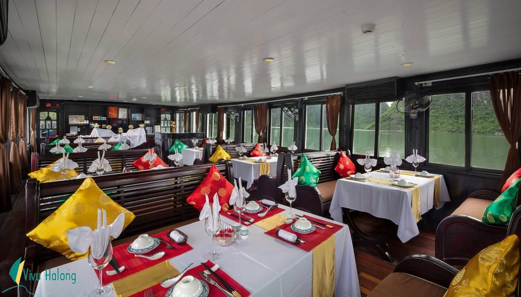 Restaurant on Genesis cruise