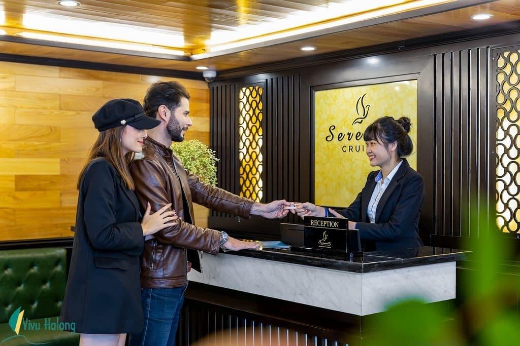 Reception on Serenity Cruise