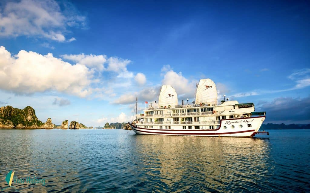 Signature Halong Bay cruise