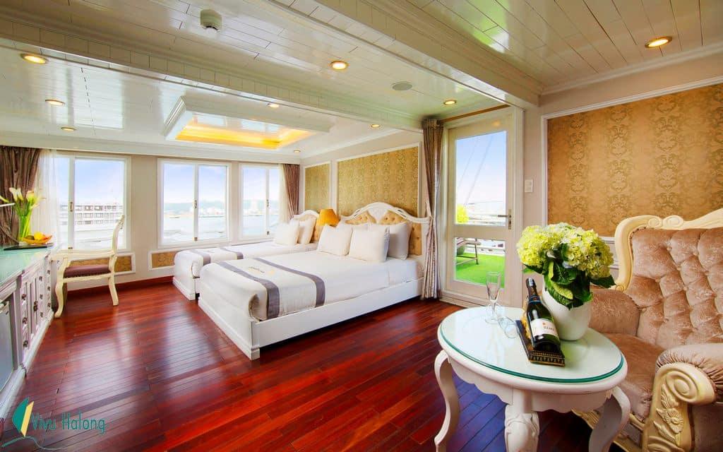 Suite cabin on Signature cruise