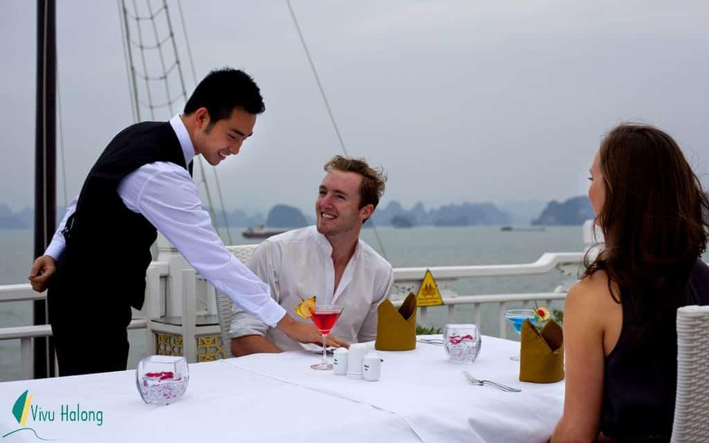Service on Signature cruise