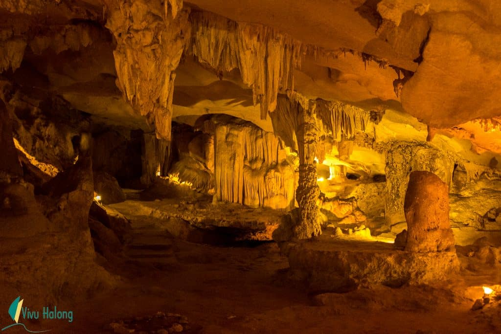 The marvelous Thien Canh Son cave
