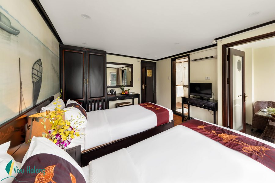 Suite cabin on Huong Hai Sealife