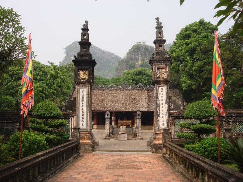 King Dinh and King Le Temple in Hoa Lu, Ninh Binh