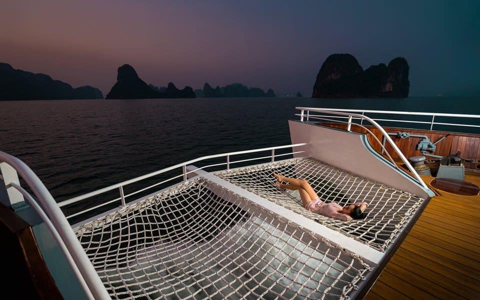 Lưới hammock cho khoảnh khắc check-in ấn tượng