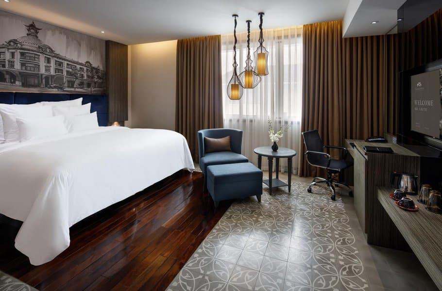 Phòng khách sạn sang trọng, tiện nghi