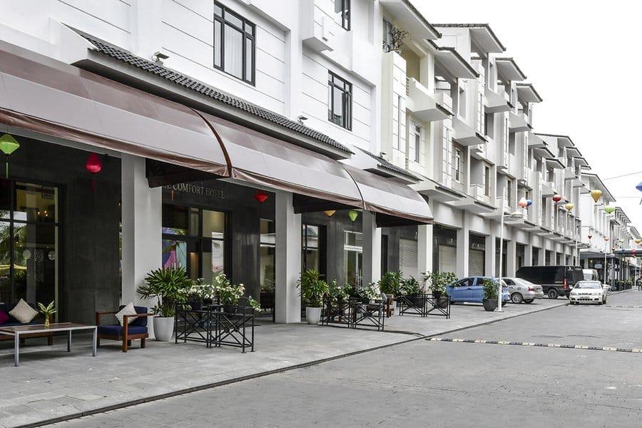Tiền sảnh khách sạn Paradise Suites