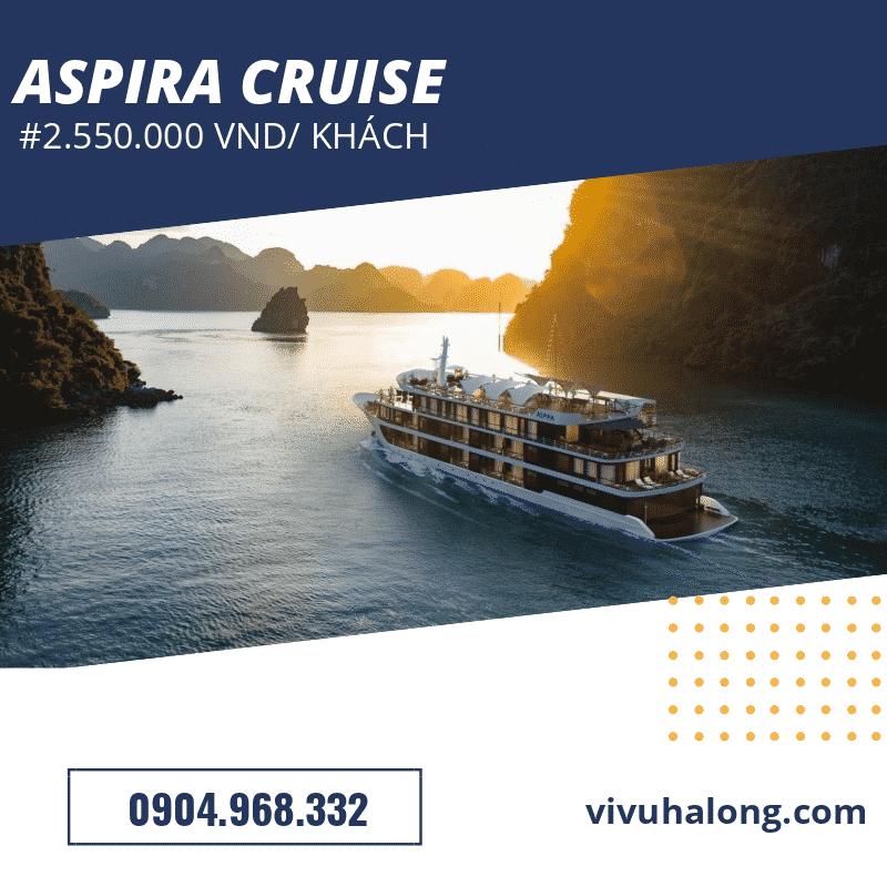 Voucher du thuyền Aspira cruise