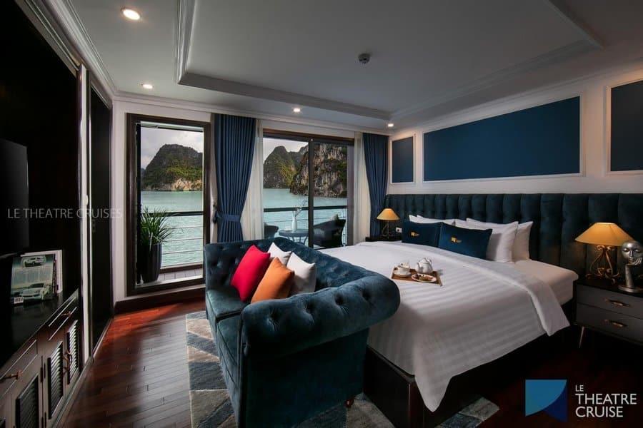 Phòng nghỉ trên Du thuyền Scarlet Pearl