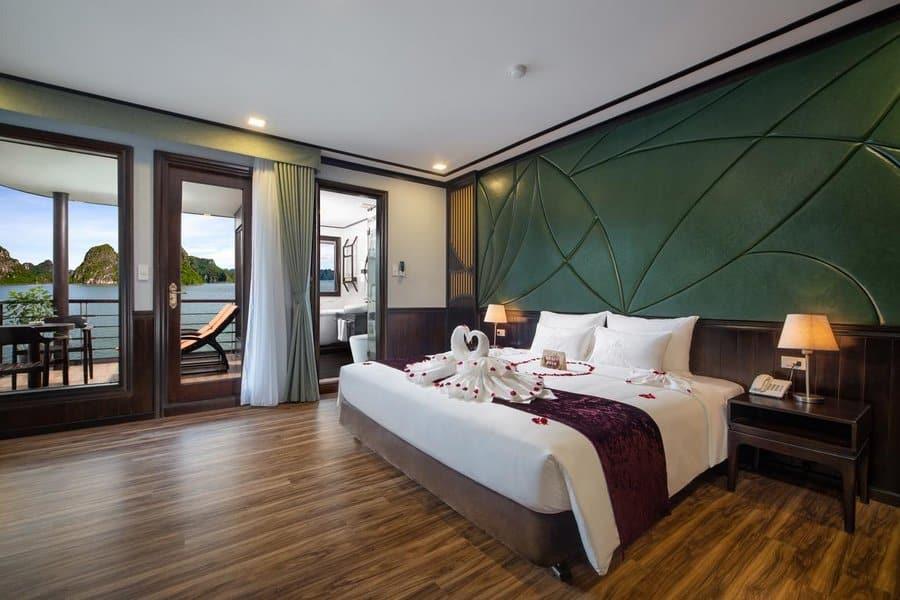 Phòng nghỉ trên Du thuyền Peony