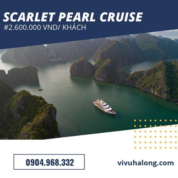 Voucher Du thuyền Scarlet Pearl