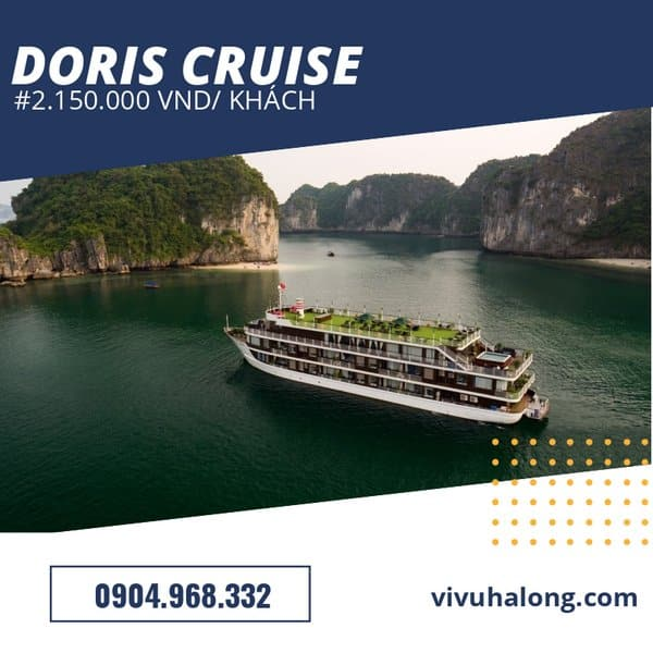 Voucher Du thuyền Doris Cruise