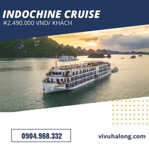 Voucher Du thuyền Indochine