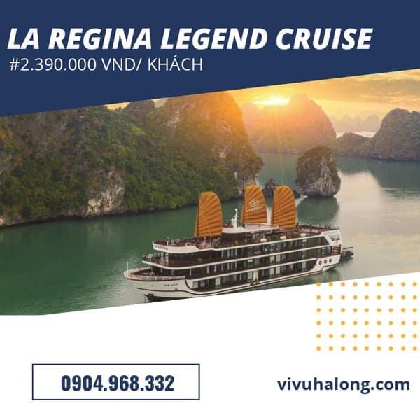 Voucher Du thuyền La Regina Legend