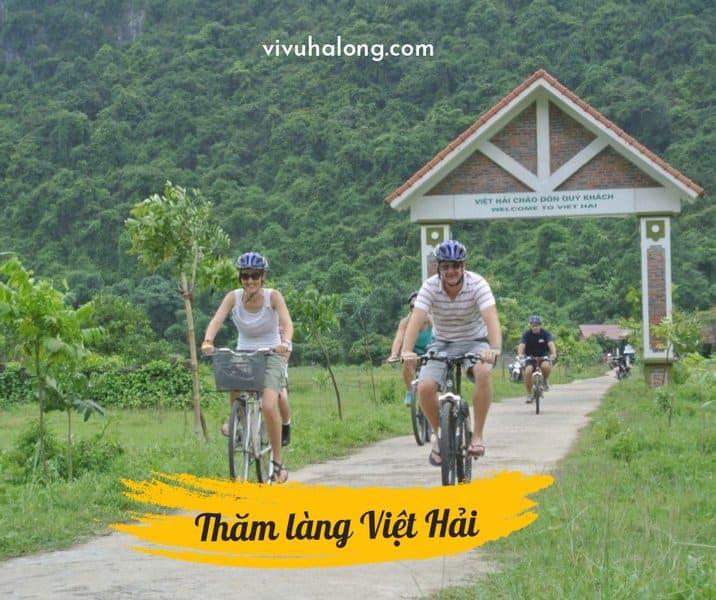 Thăm làng Việt Hải trên đảo Cát Bà