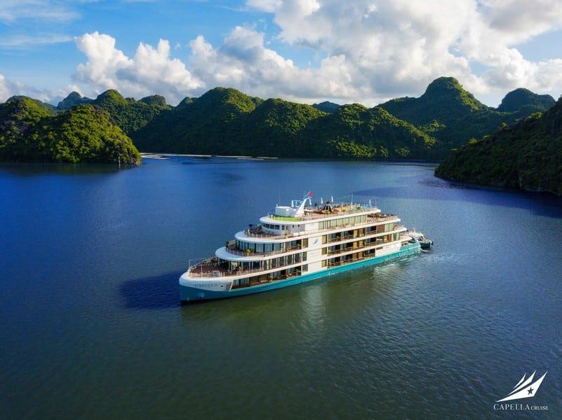 Du thuyền Capella, siêu phẩm du thuyền mới trên Vịnh Lan Hạ