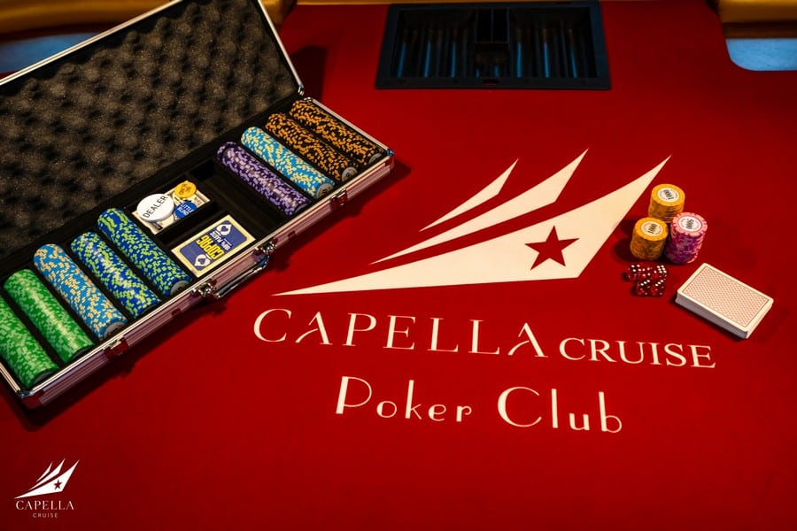 Poker club trên Du thuyền Capella