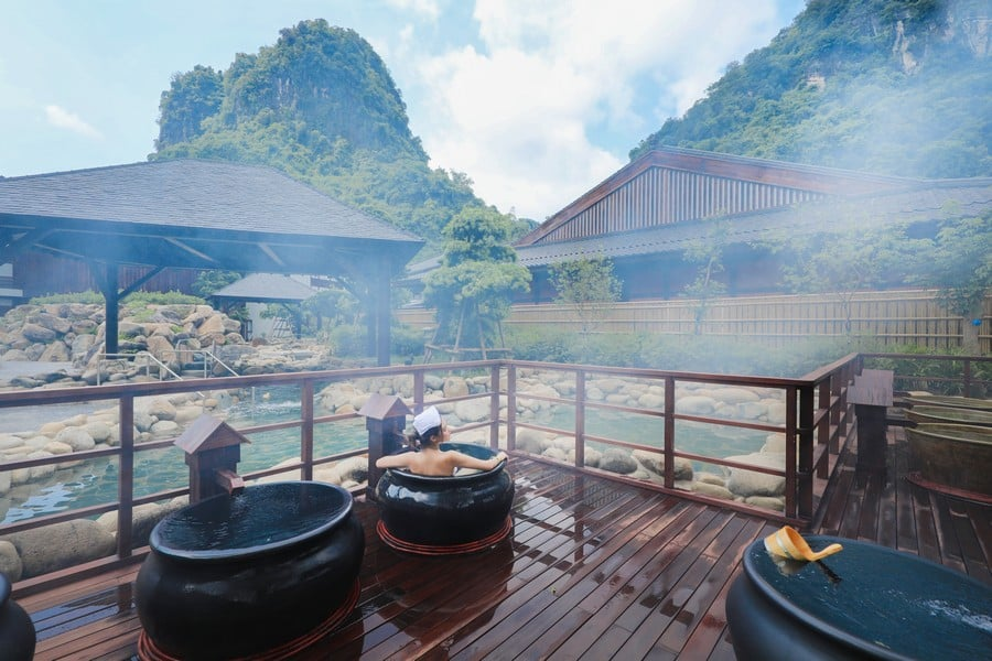 Các combo dịch vụ public onsen hấp dẫn tại Yoko Onsen Quang Hanh