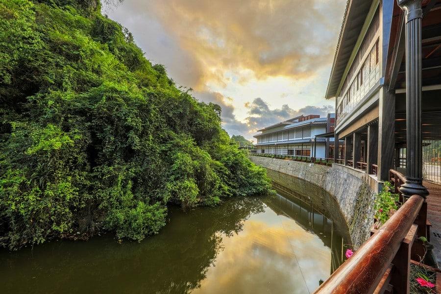 Phong cảnh tuyệt đẹp tại Yoko Onsen Quang Hanh