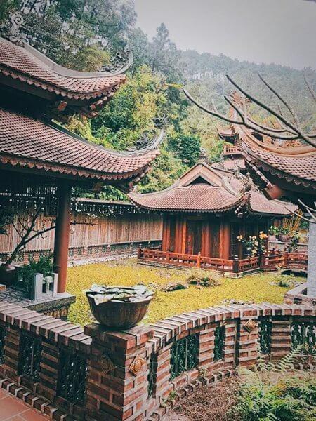 Không gian yên bình chùa Địa Tạng Phi Lai
