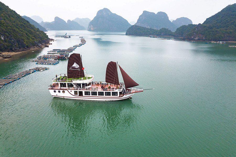 Du thuyền Serenity Premium Vịnh Lan Hạ