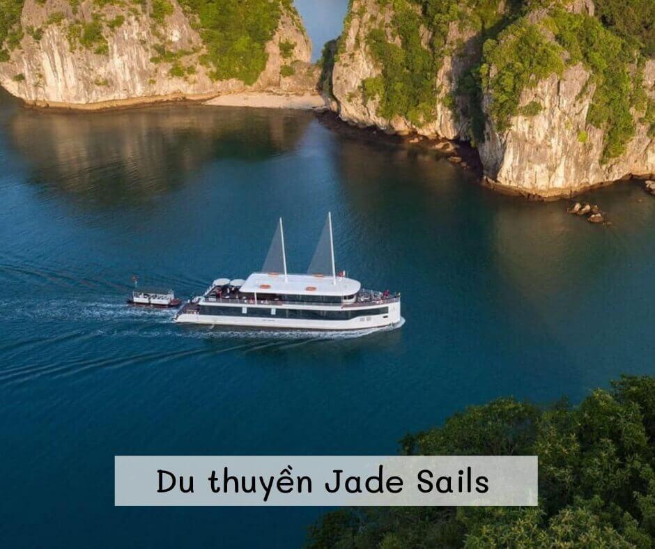 Du thuyền Jade Sails Tour thăm vịnh Lan Hạ 1 ngày