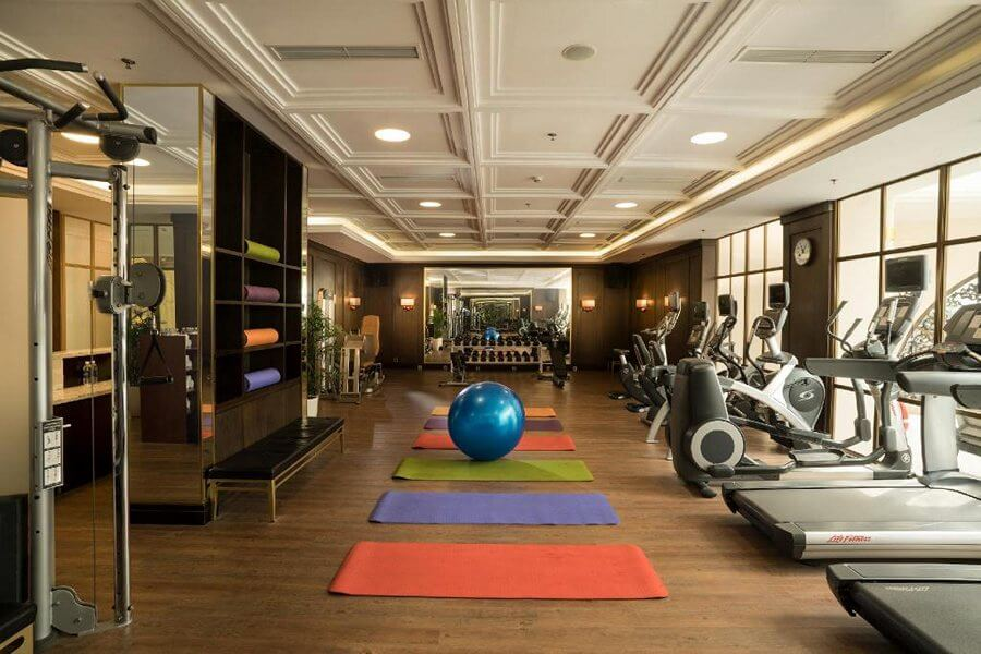 Phòng gym Vinpearl Hạ Long resort