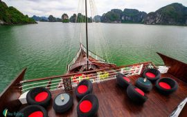 [Review] Du thuyền Perla Dawn Sails – Vịnh Lan Hạ