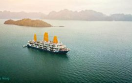 Halong Bay cruise for tourists from Ho Chi Minh City