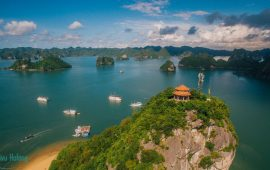 Titov island – The picturesque island of  Halong Bay