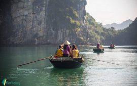 Làng chài Vông Viêng, vịnh Bái Tử Long